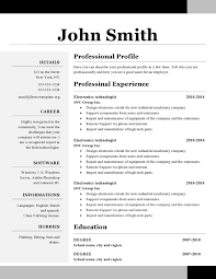 Job Resume Template For High School Student  sample resume for     Free Resume Sample Australia  resume examples  australian resume       free resume