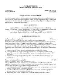 Sample Resume For Senior Manager by Resume Sample 8 Hr Manager Resume Career Resumes