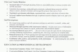 Construction Management Resume Examples by Construction Business Owner Resume Examples Reentrycorps