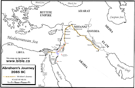 Exodus Route Map by Ahcoc Online Bible