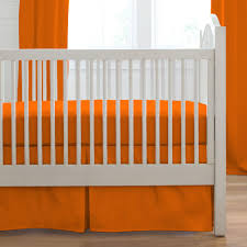 Mini Crib Set Bedding by Orange Crib Bed Skirt Creative Ideas Of Baby Cribs