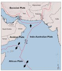 Tectonic Plate Map Indian Ocean Earthquake And Tsunami Hazard Potential Greater Than