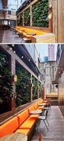 Outdoor Patio With Roof by Best 25 Outdoor Cafe Ideas On Pinterest Backyard Cafe Outdoor