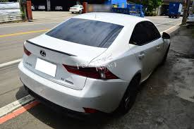 lexus is 200 for sale ebay carbon fiber for lexus is250 is350 b type rear trunk lip wing