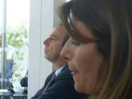Nico Kamp – Console Generale Onorario d'Olanda. Cecilia Proto – Assessore alla cultura del comune di Lacco Ameno - Anne-Frank-24