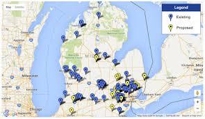 Detroit Michigan Map by Michigan Roundabout Resource Center