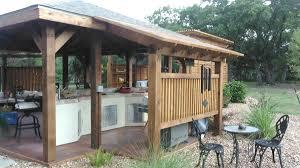 Outdoor Patio With Roof by River City Deck U0026 Patio San Antonio Deck Builders