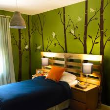 Bedroom Wall Decals Trees Birch Tree Wall Decals Sticker Set