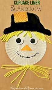 Halloween Crafts For Kid by 25 Best Scarecrow Crafts Ideas On Pinterest November Crafts