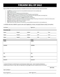 transfer agreement template firearm bill of sale free printable gun bill of sale forms in firearm bill of sale form 01