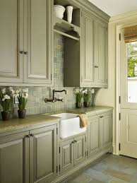 Antiqued Kitchen Cabinets by Antique Sage Green Cabinets Kitchen Pinterest Kitchens Sage