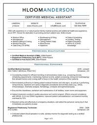 Phlebotomist Resume Sample No Experience by Skills Medical Assistants Resume With Medical Assistant Resume