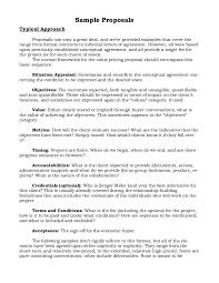 Microsoft Word Business Proposal Template  informal proposal