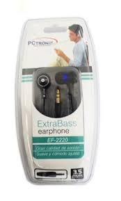 Audifono Earplug Dise�o EF2200.  Precio:  $ 2.790