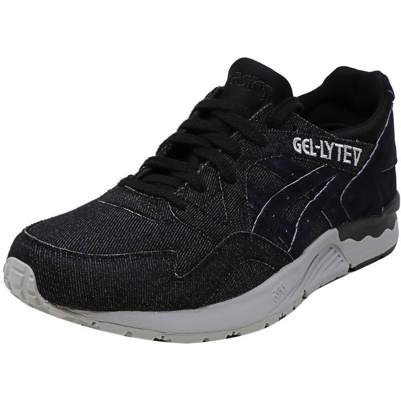 Asics Tiger Gel-Lyte V Mid Grey / Black Ankle-High Leather Sneaker 12M