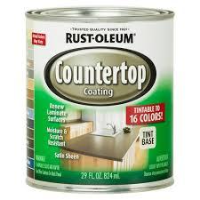 Rustoleum Kitchen Cabinet Paint Rust Oleum Specialty 1 Qt Countertop Tintbase Kit 246068 The