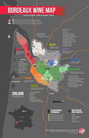 France Map Regions by Learn About Bordeaux Wine Region Map Wine Folly