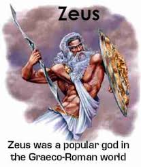 zeus god greeks sacred name jesus or zeus