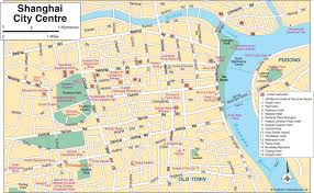 China City Map by Map Of Shanghai Shanghai City Map China