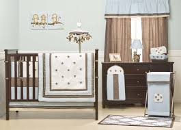 baby room comely ideas for brown and blue baby nursery room