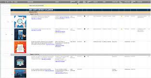 Project Management Spreadsheet 9 Free Marketing Calendar Templates For Excel Smartsheet