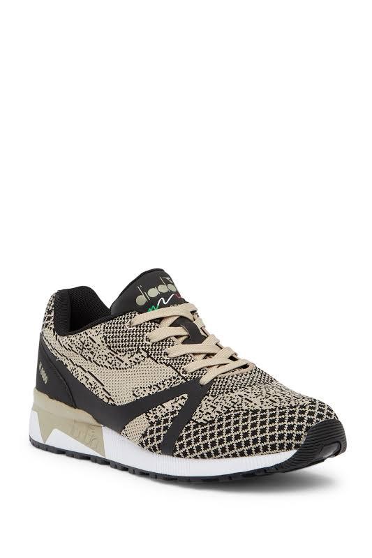 Diadora N9000 MM EVO Running Shoes Beige- Mens