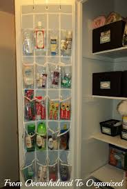Cheap Kitchen Organization Ideas New Uses For A Hanging Door Shoe Organizer Home Storage Hacks