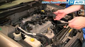 nissan sentra xe 2003 how to install replace ignition coil nissan sentra 2 5l 02 06
