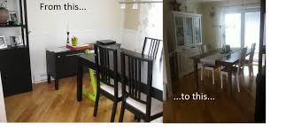 Ikea Dining Table Hacks Diy Ninjastyle