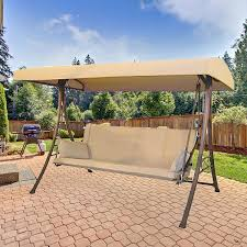 replacement swing canopy home depot 3 person futon swing s010047