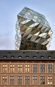 Nick Lee Architecture by Zaha Hadid Architects Sits Glass Lump On Top Of Antwerp Port Building