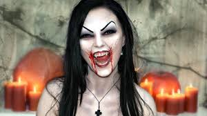 scary u0026 vampire makeup u2014 halloween face painting tutorial