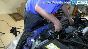 how to install replace radiator cooling fan pontiac g6 2 4l 4