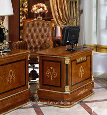 Wooden Office Tables Designs 0038 European Dignity Classic Executive Desk Design Executive