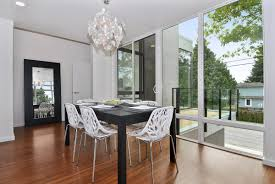 dining room modern white dining chair made of white solid and