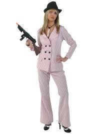 1920 Halloween Costumes Pink Women U0027s Gangster Costume