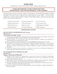 Assistant Property Manager Resume Sample by Global Procurement Executive Resume
