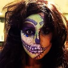 dead makeup halloween halloween inspiration dead cheerleader costume eat sleep chic