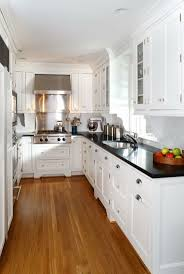White Kitchen Cabinets With Black Granite Countertops by 207 Best Kitchen Small Spaces Images On Pinterest Kitchen
