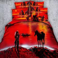 Girls Horse Bedding Set by Horse Bedding Queen Promotion Shop For Promotional Horse Bedding