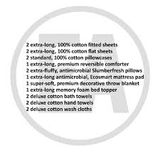 Nu Way Kitchen And Bath Erin Andrews Essential Bedding Collection Twin Xl Bedding And