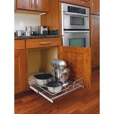 Kitchen Cabinets With Pull Out Shelves by Rev A Shelf 7 In H X 20 75 In W X 22 In D Base Cabinet Pull Out