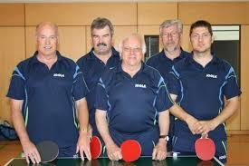 Von links nach rechts: Hans Jungermann, Franz Ihle, Hubert Zichraser, Roland Saal, Thomas Prochaska (nicht im Bild: Lenz Thoma) - 7b07635f37