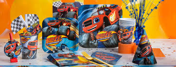 blaze monster machines party supplies woodies party