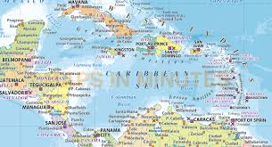 Centro America Map by Political Map Central America And Caribbean Outline Map Of Usa