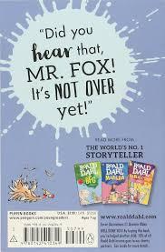 fantastic mr fox roald dahl quentin blake 8580001048246