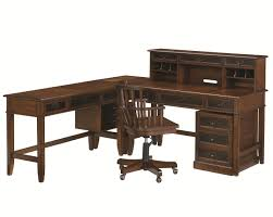 l shaped desk and credenza by hammary wolf and gardiner wolf
