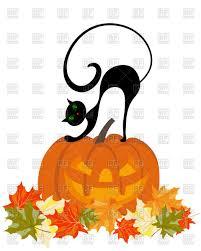 halloween clipart pumpkin cat happy halloween clipart clipartxtras