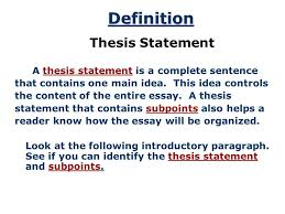 example essay thesis templateexample essay thesis Free Essays and Papers