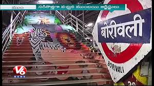 Beautify Worldwide by Artists Beautify Borivali Railway Station Swachh Bharat V6